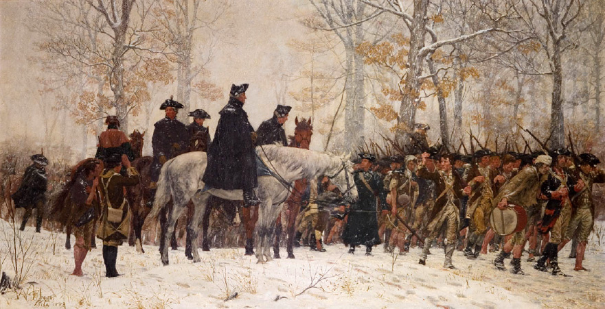 The March to Valley Forge, William Trego